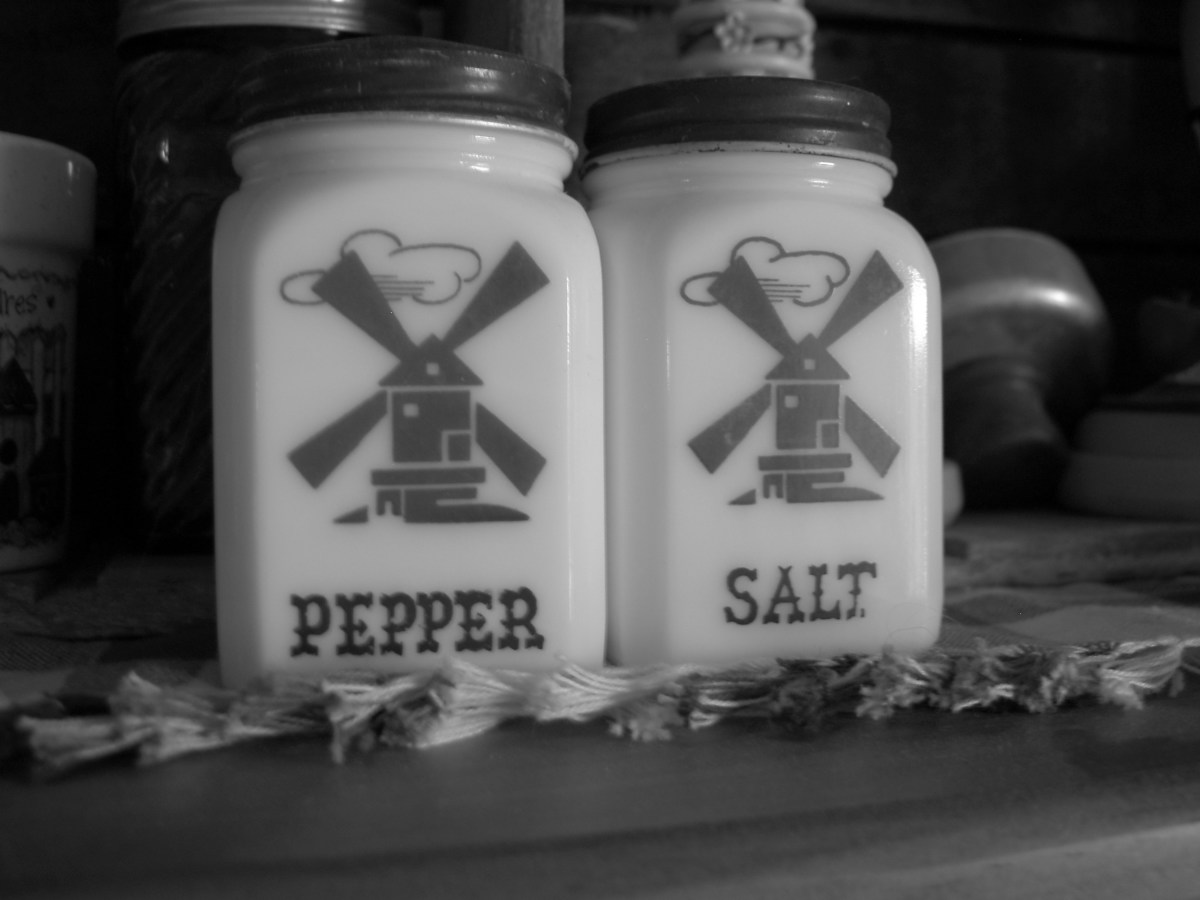 Pass the Pepper and Salt, Please.
