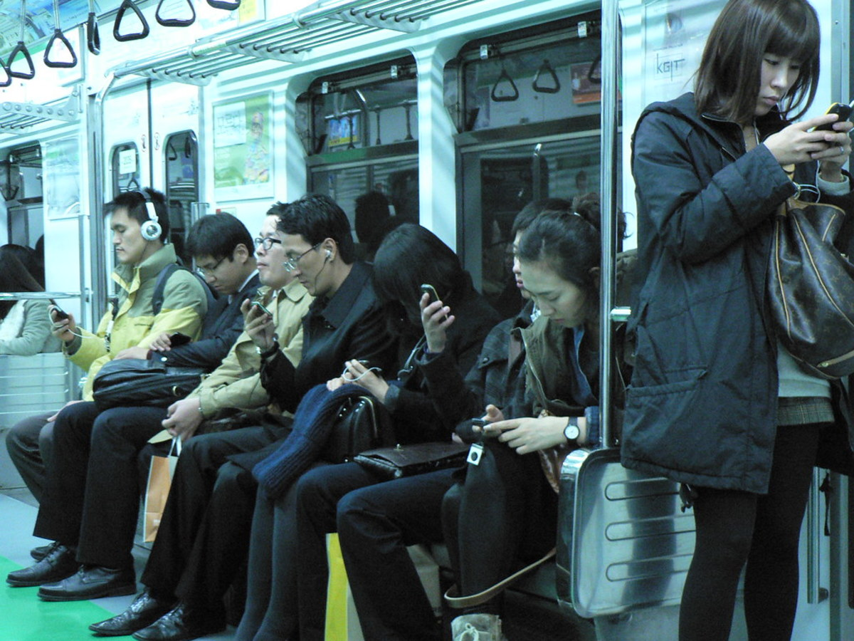Addicted to Technology: Without a Phone Poem