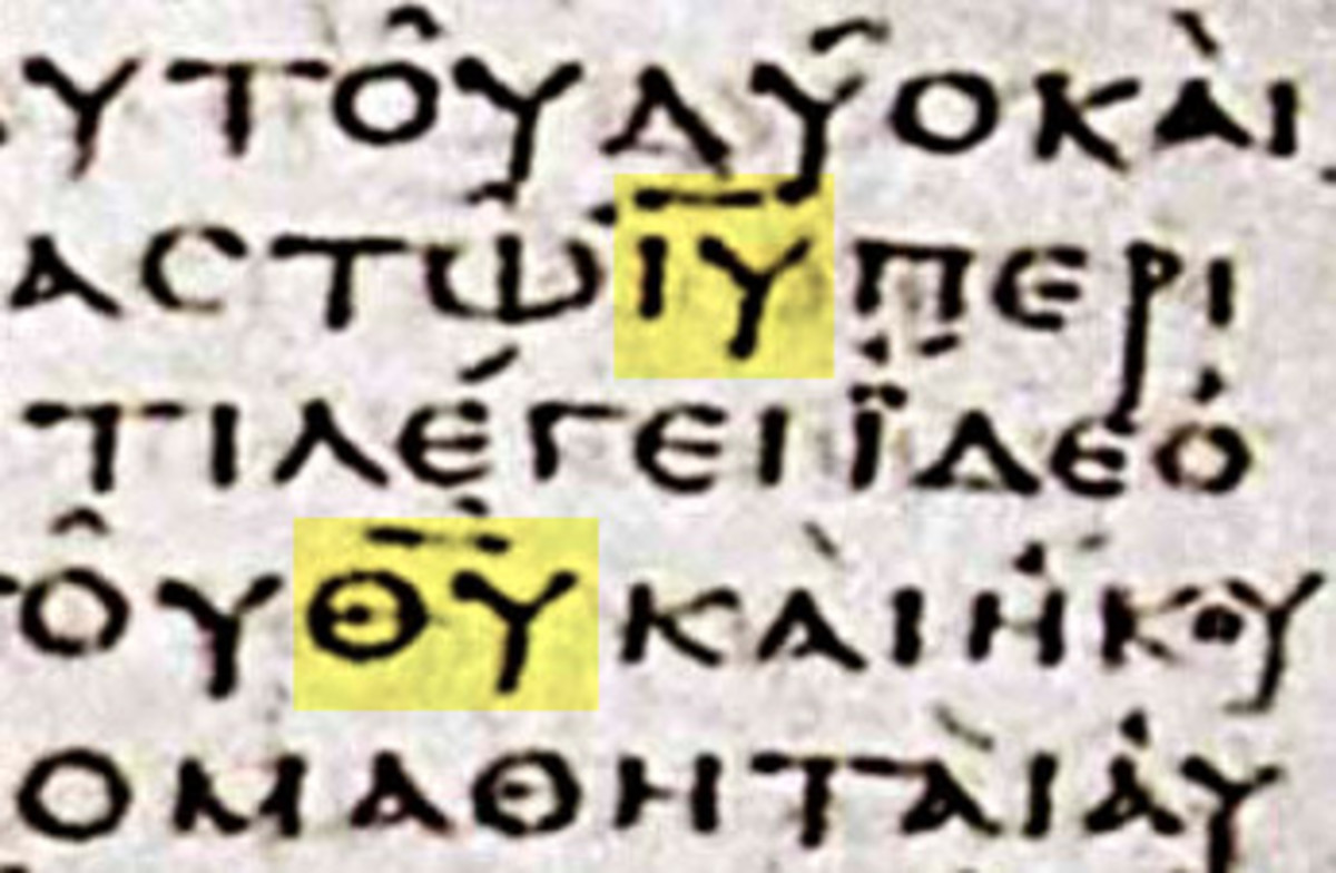 The Sacred Names: Nomina Sacra in Early Christian Manuscripts