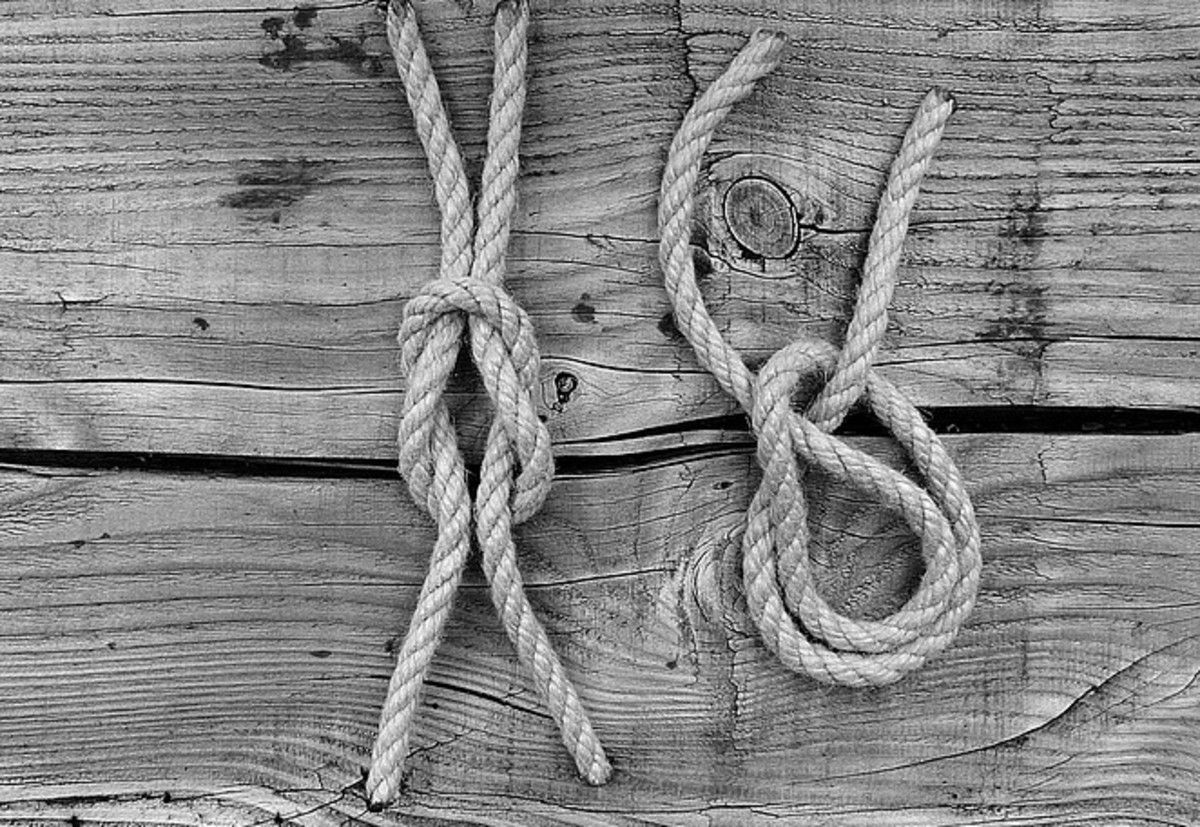 A Brief History of Knot Tying