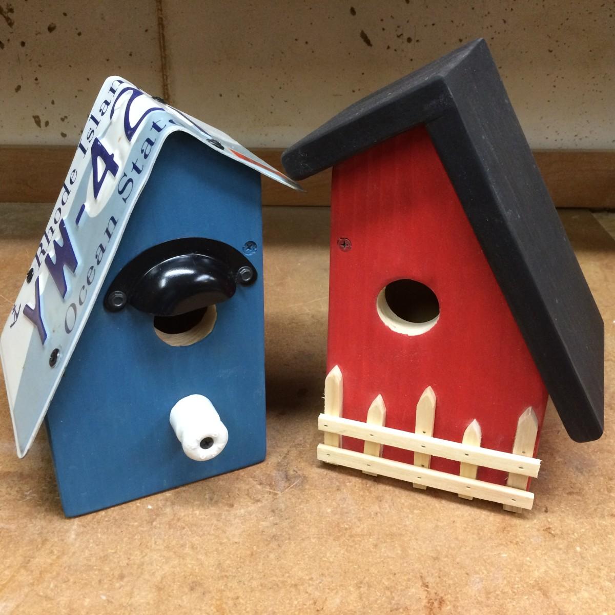 Cottage Style Bluebird Birdhouses