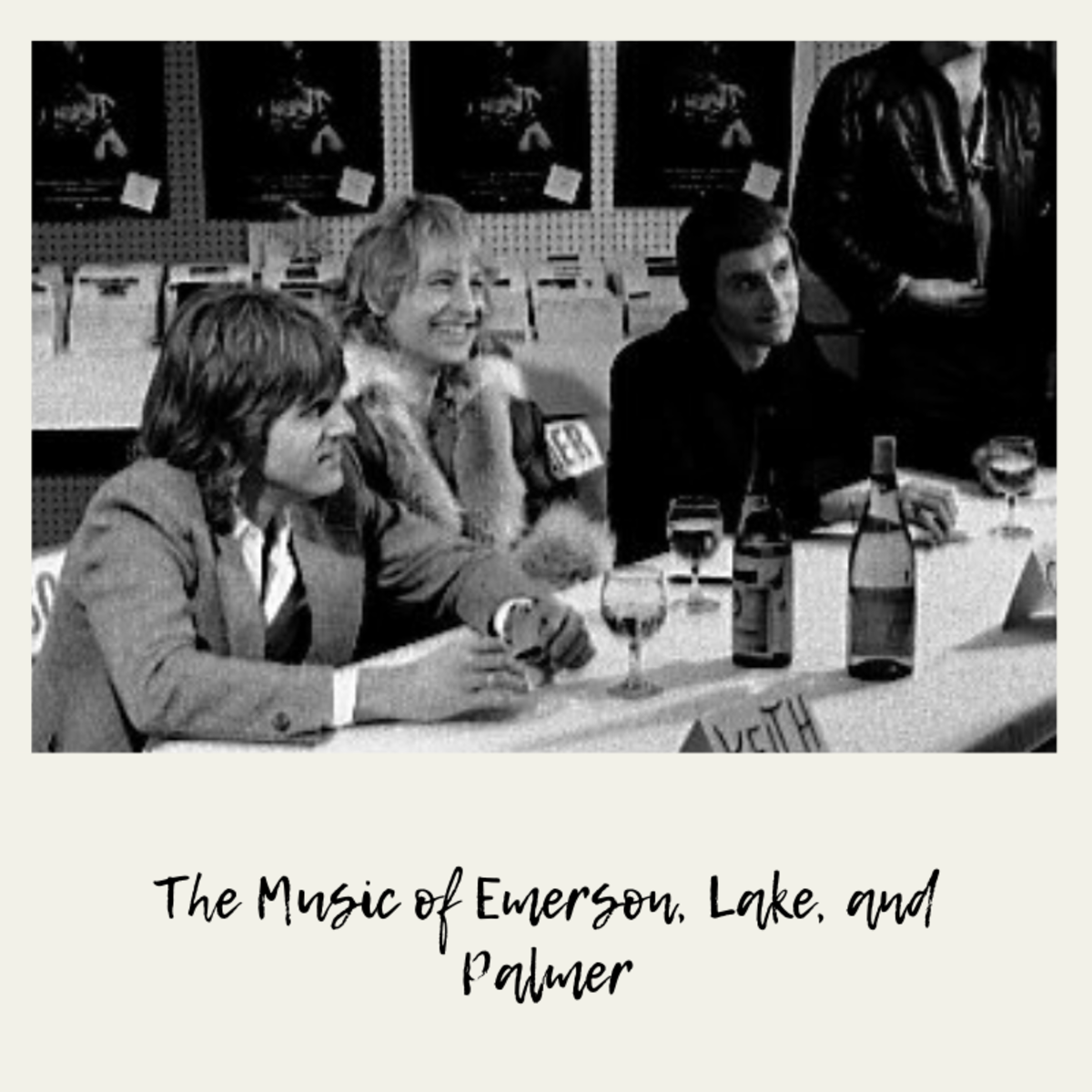 Emerson, Lake, and Palmer at Records on Wheels, Toronto, Feb. 2 or 3, 1978.