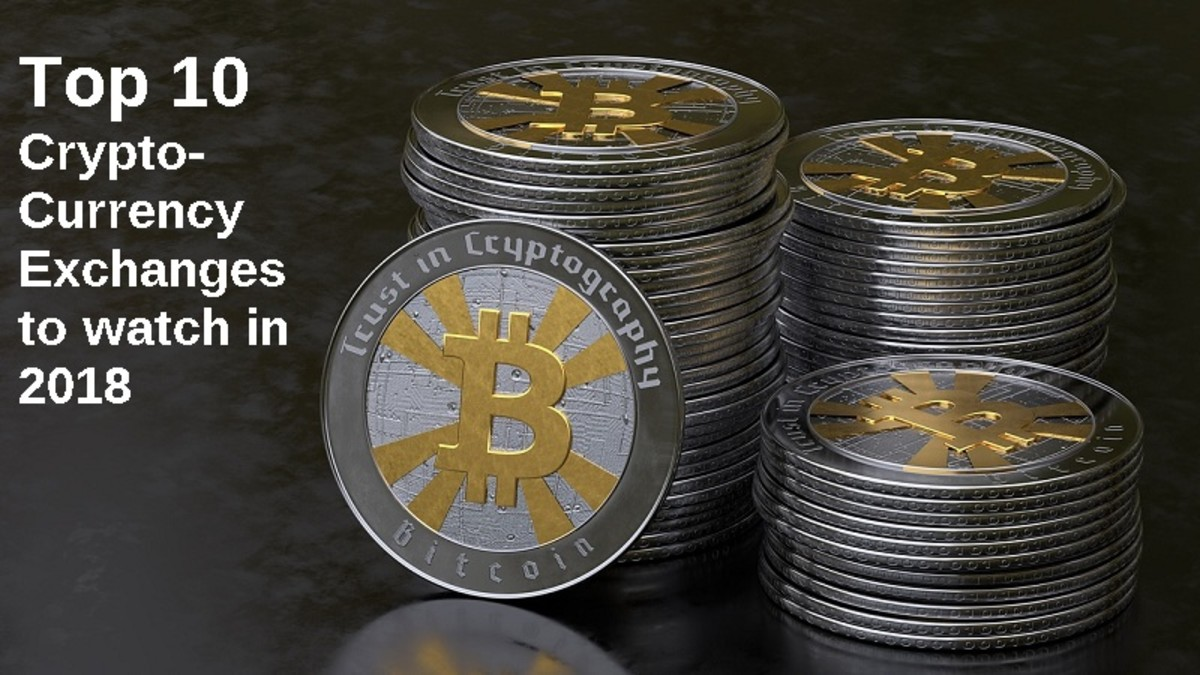 10 Cryptocurrency Exchanges for 2018