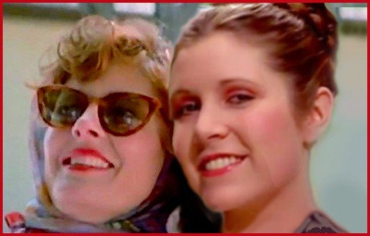 """Had """"The Force"""" been with her, Carrie Fisher may have starred in Thelma and Louise."""