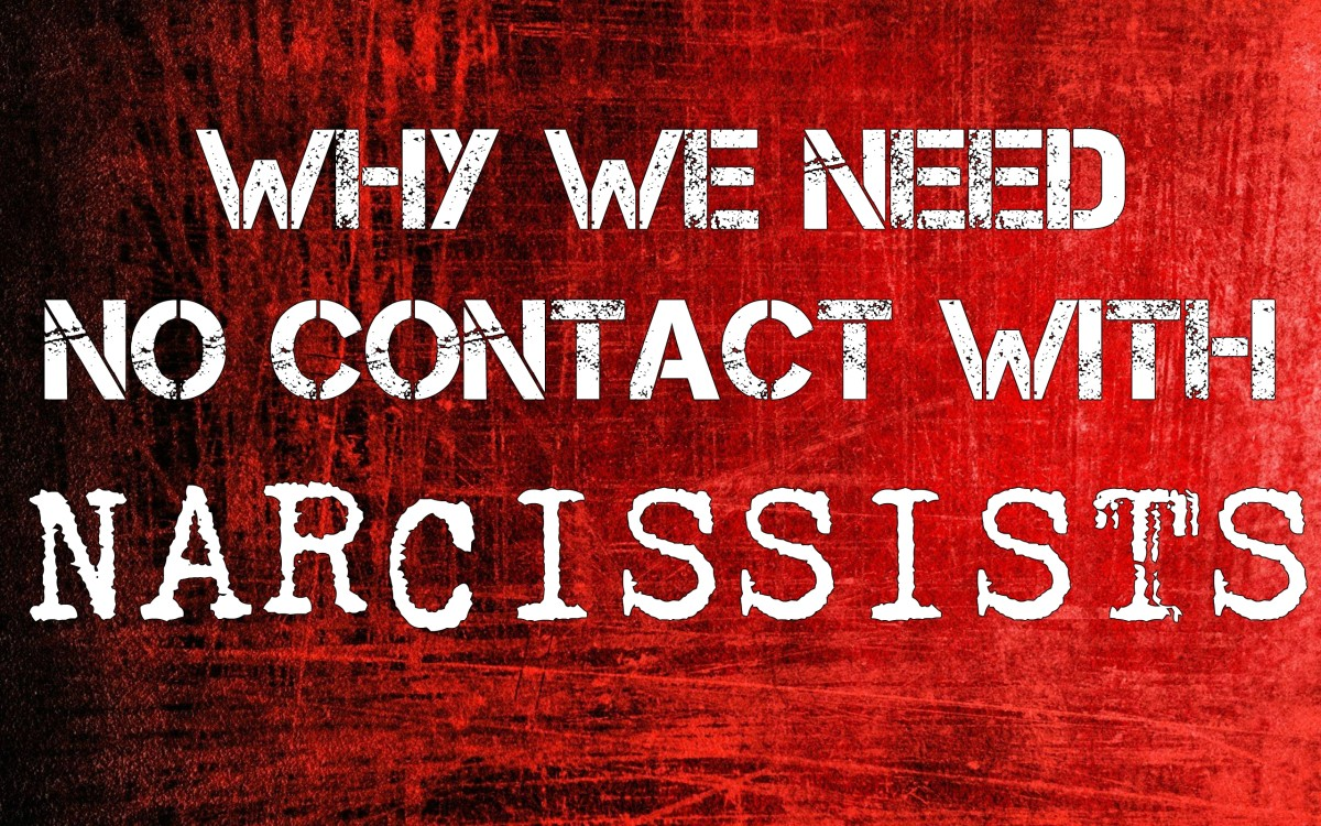 Why We Need No Contact With Narcissists