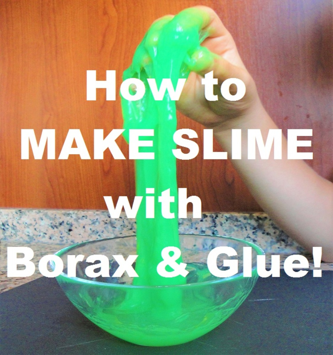 How to Make Slime With Borax and Glue