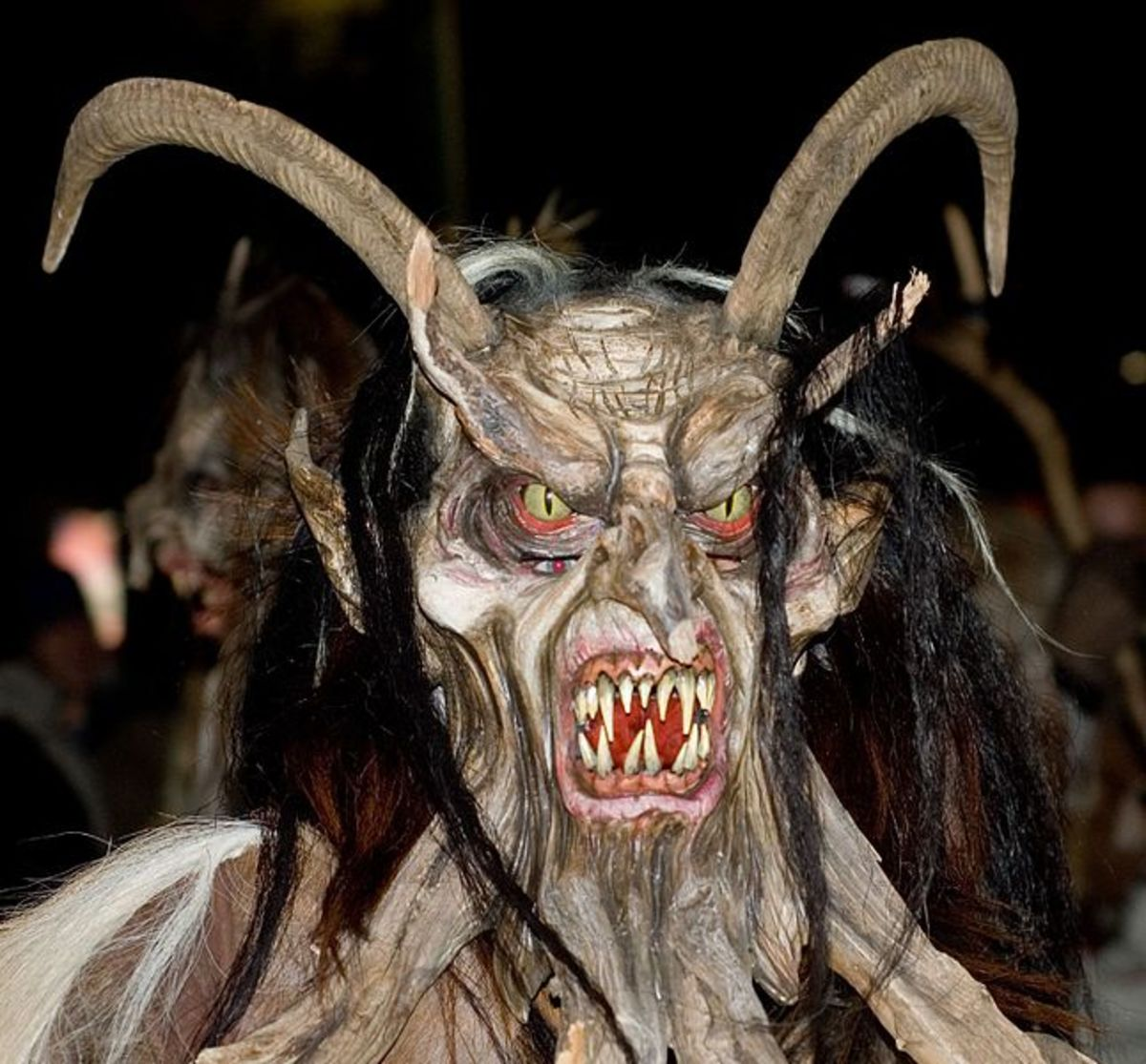 Krampus at Perchtenlauf Klagenfurt, Anita Martinz, 2006