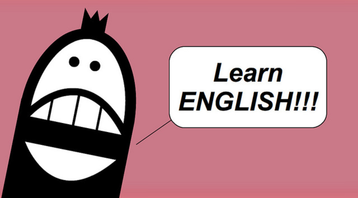 We Want to Learn English