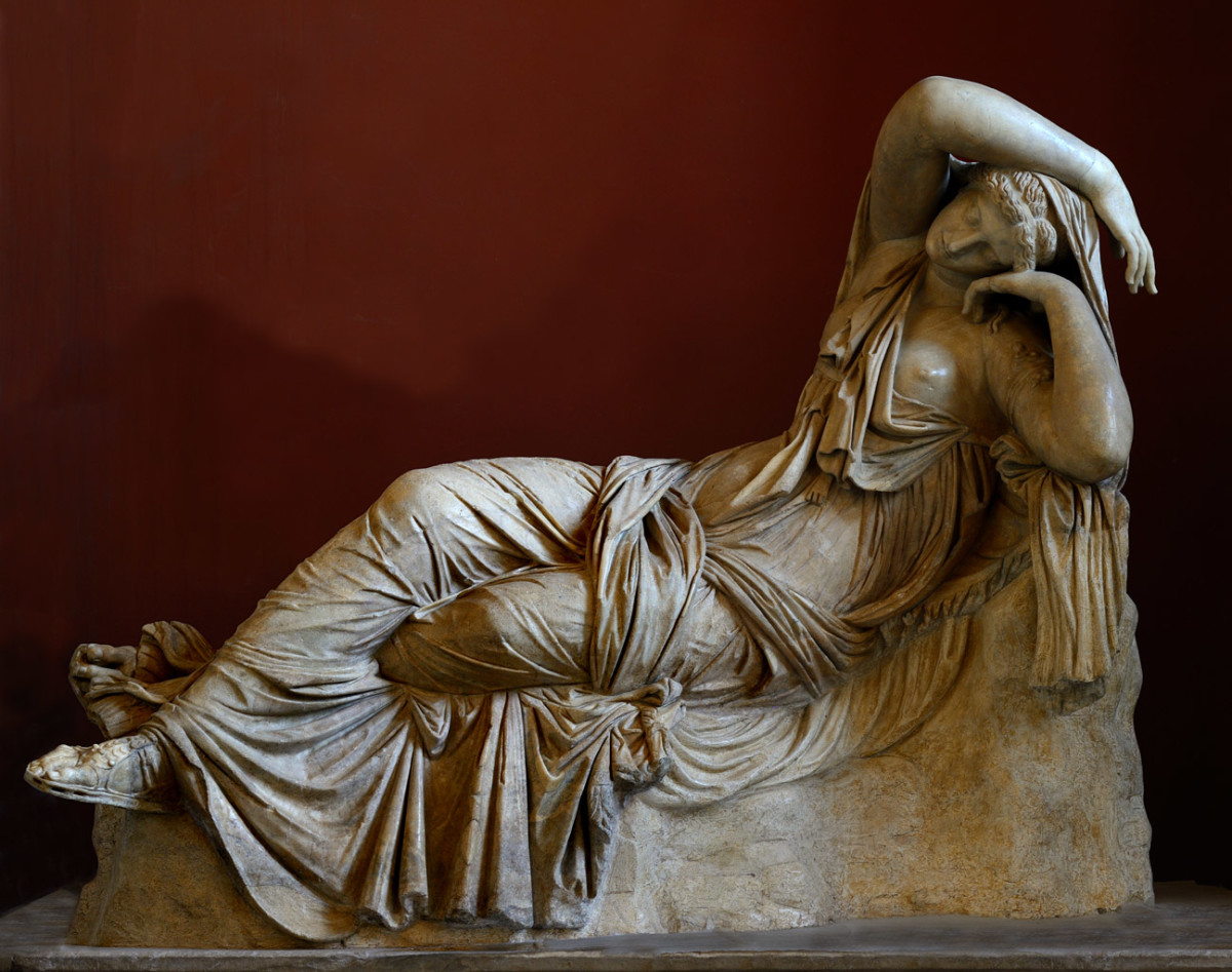 "Figure 2 ""The Sleeping Ariadne"""