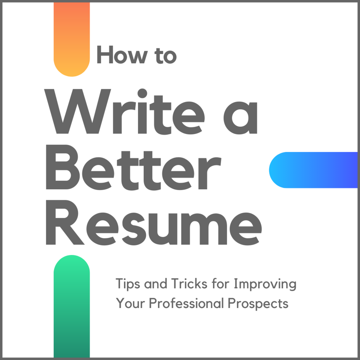 how to write an effective resume - toughnickel