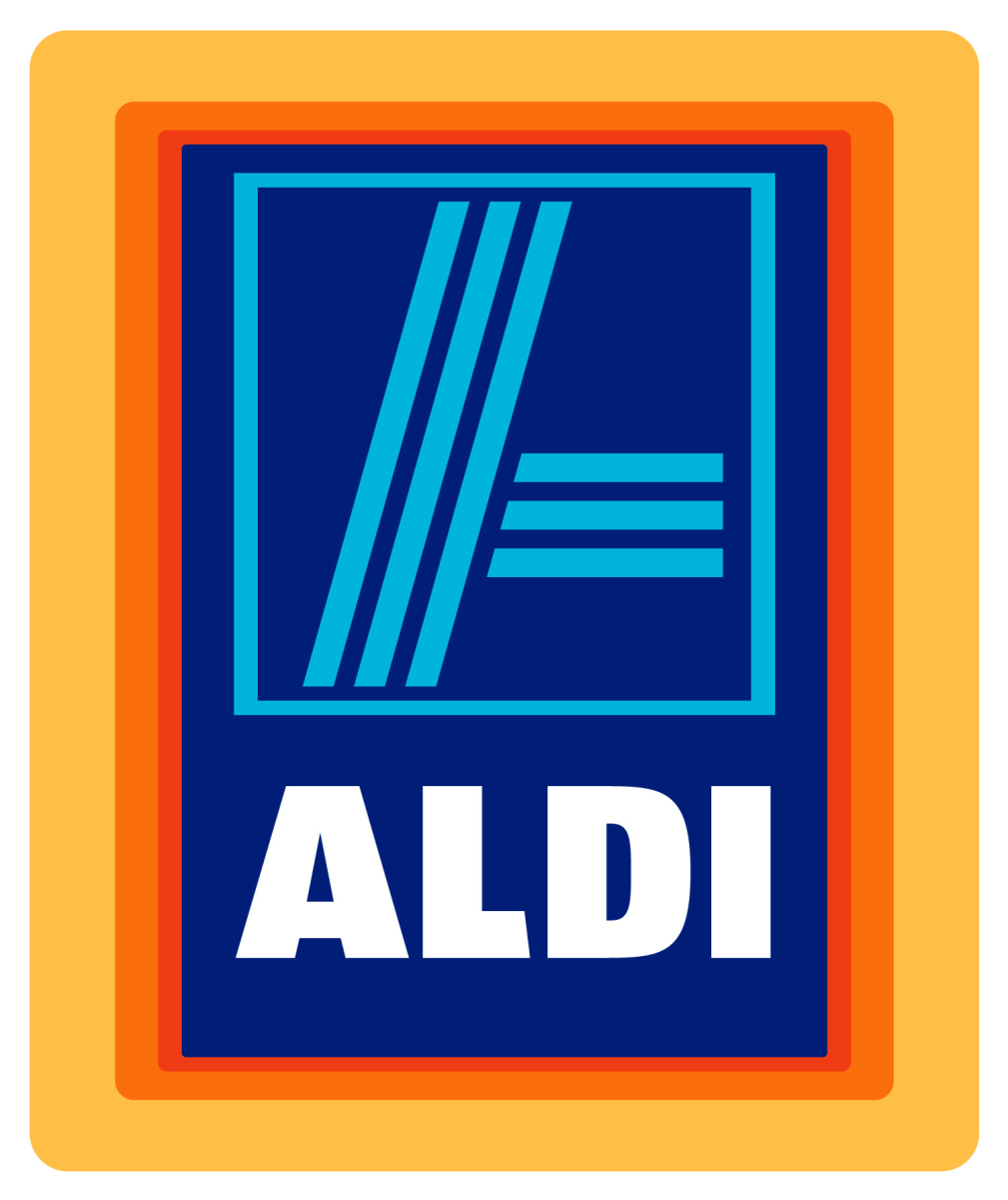 The Aldi logo.