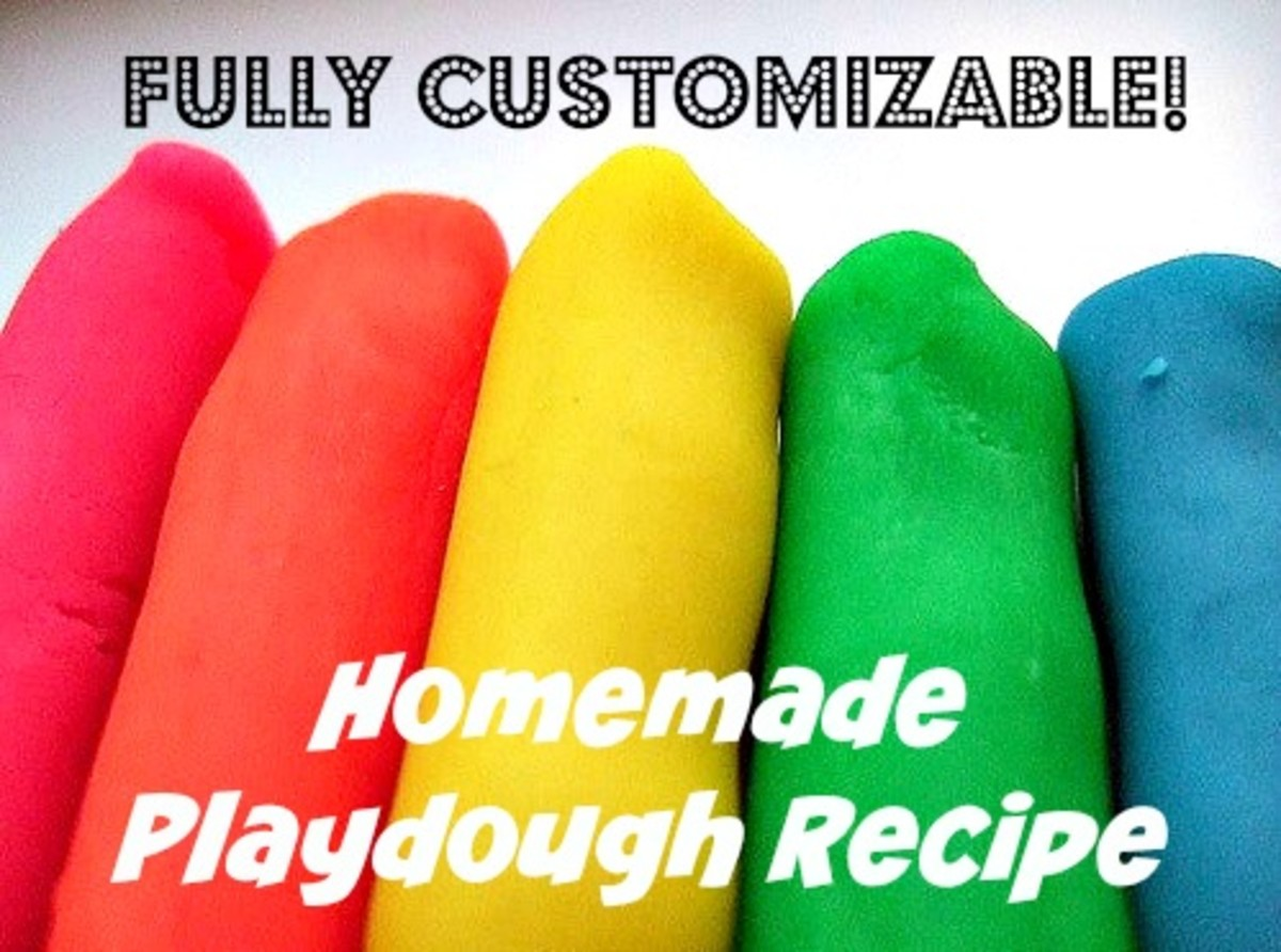An Easy Cooked Playdough Recipe