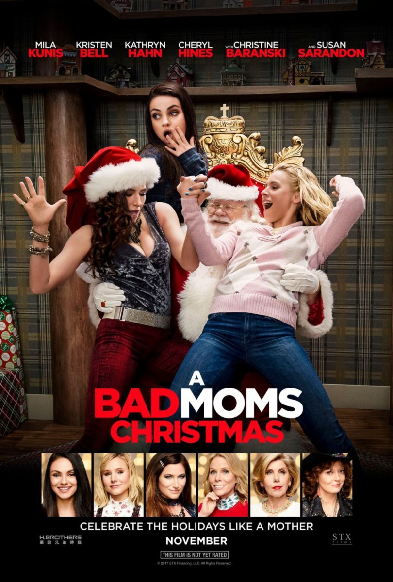 "Movie Review: ""A Bad Moms Christmas"""
