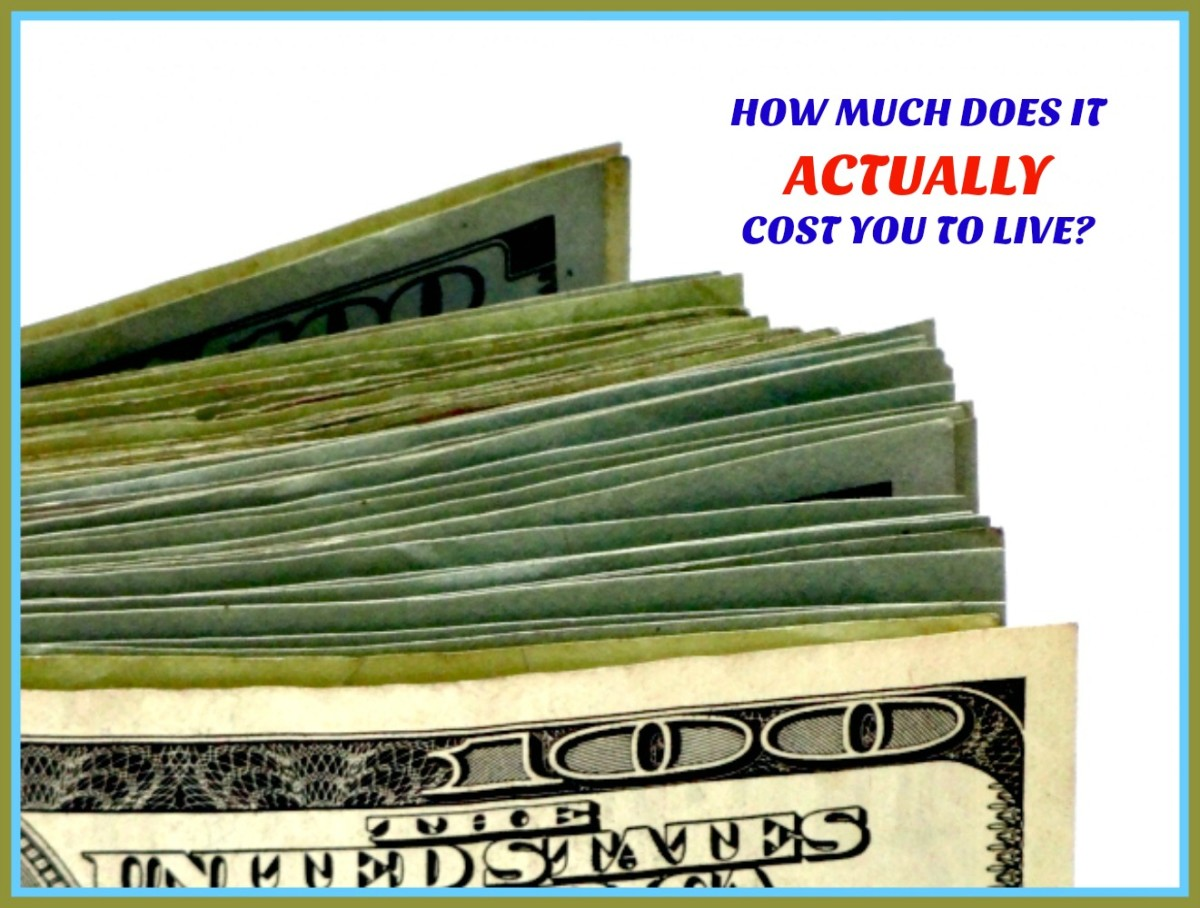 How to find out what your real cost of living is.