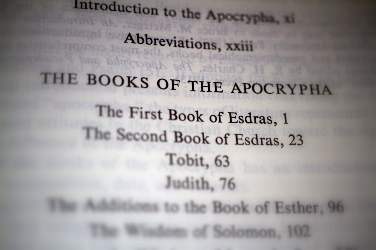 3 Stories From the Apocrypha With Relevance for Today