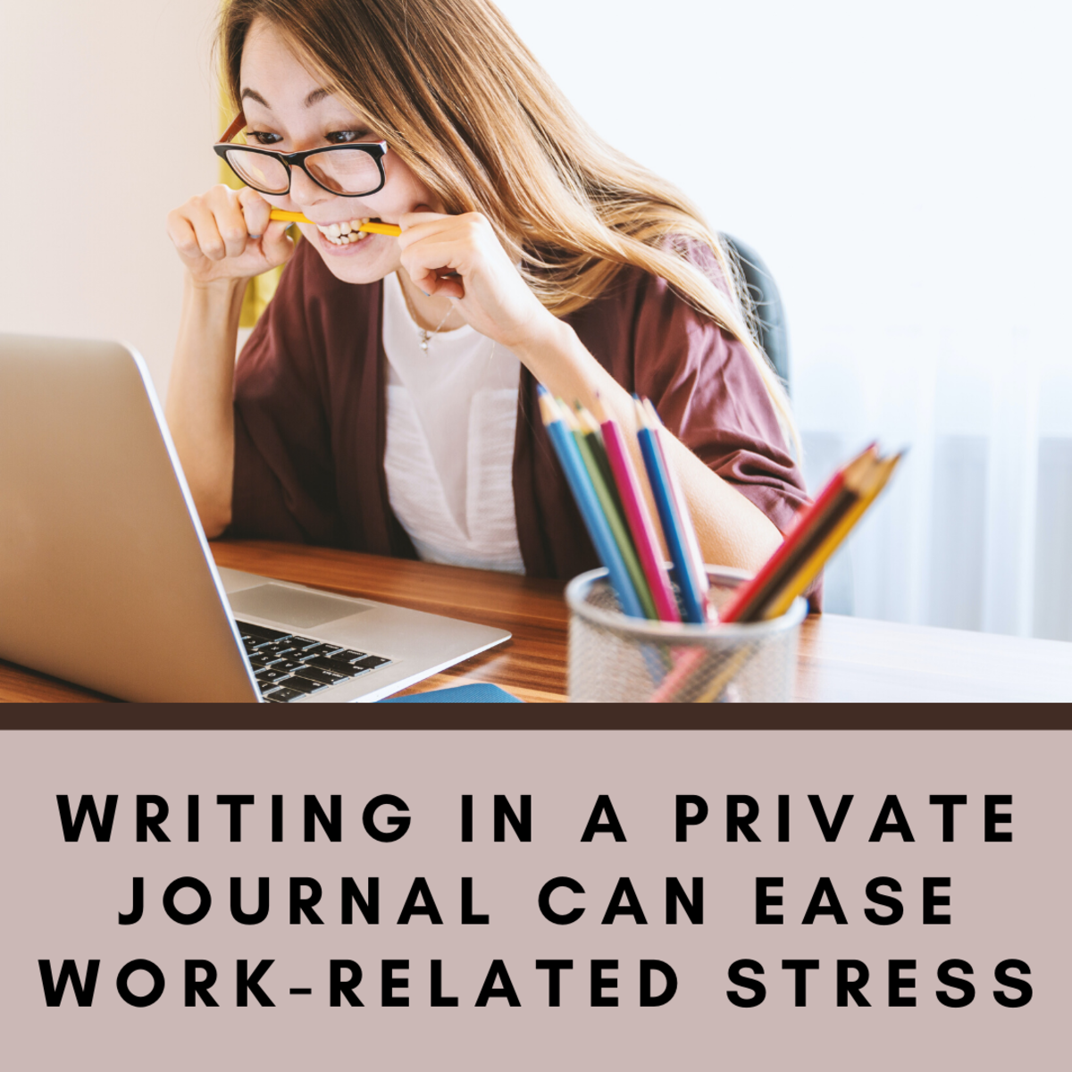 How Writing in a Private Journal Can Ease Work-Related Stress