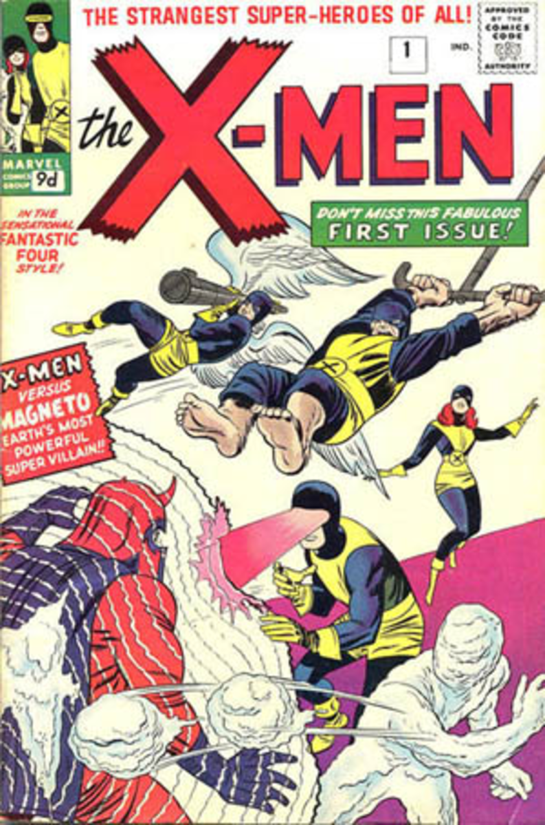 First Appearance of the X-Men