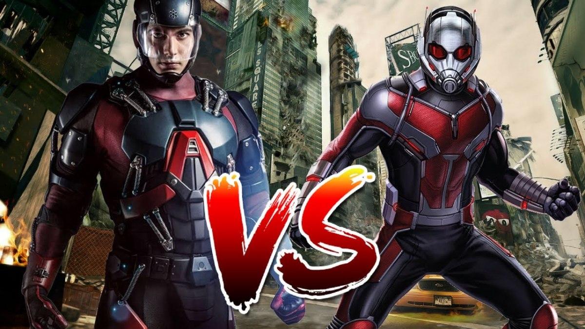 Atom vs. Ant Man
