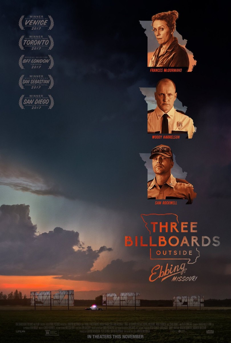 Three Billboards Outside Ebbing, Missouri: Movie Review