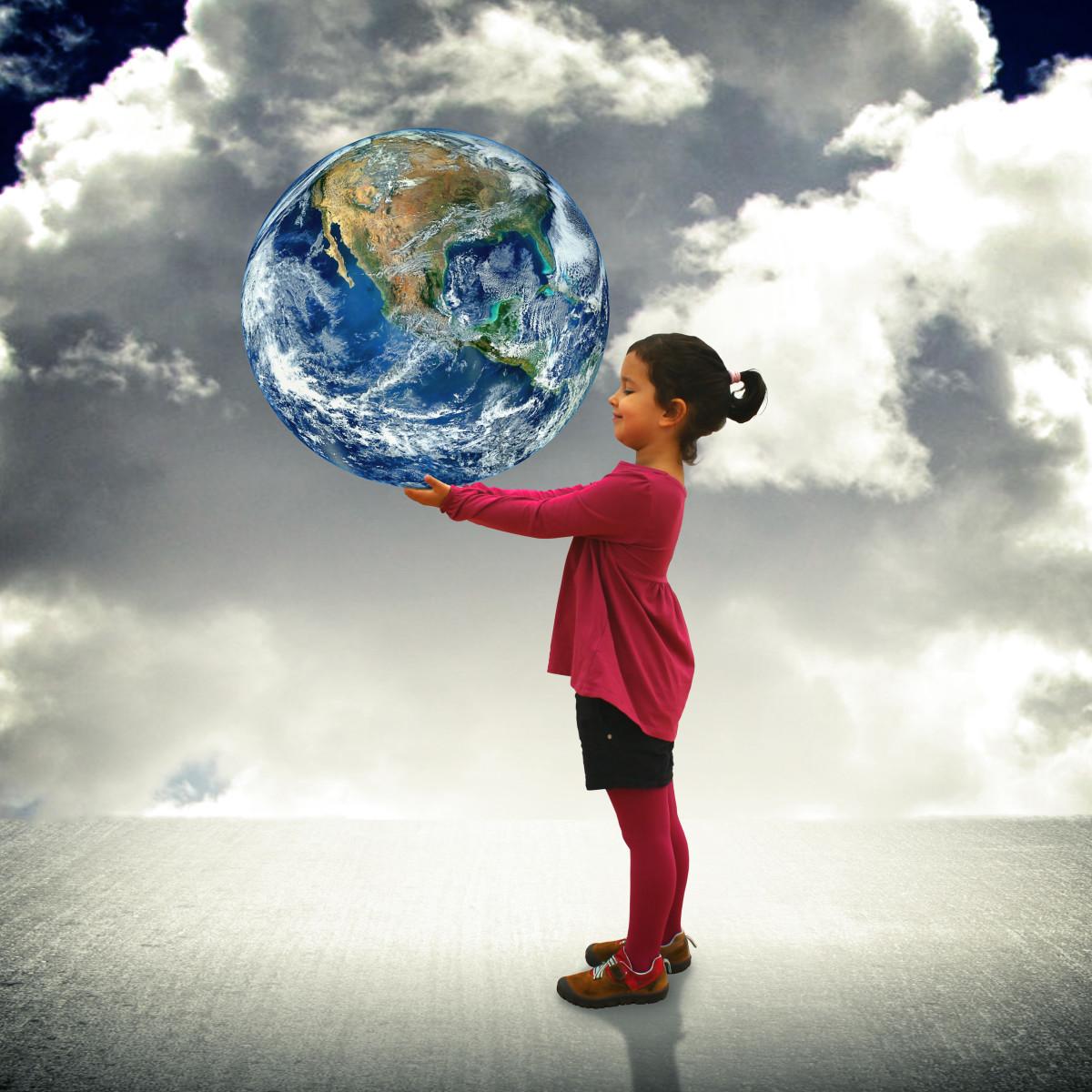 Preschool Valentine Lesson Plan: Hug the Earth