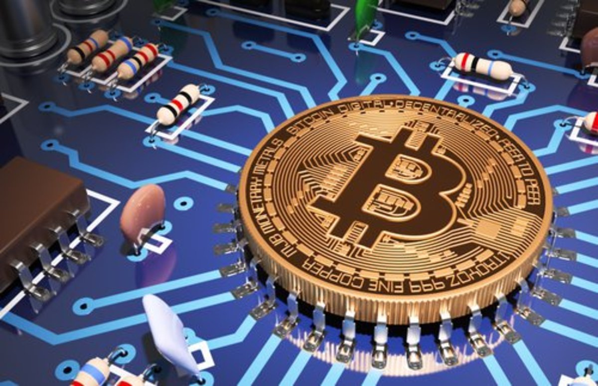 Bitcoin does not have physical coins.  The digital currency resides within a network of computers that verify and record Bitcoin transactions.