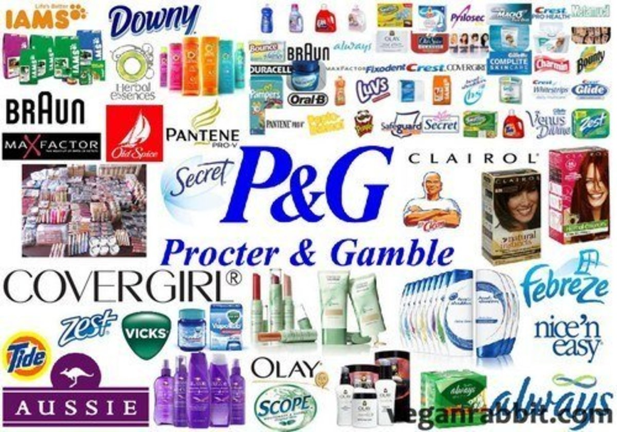 Complete list of procter and gamble products cashflow the e game review