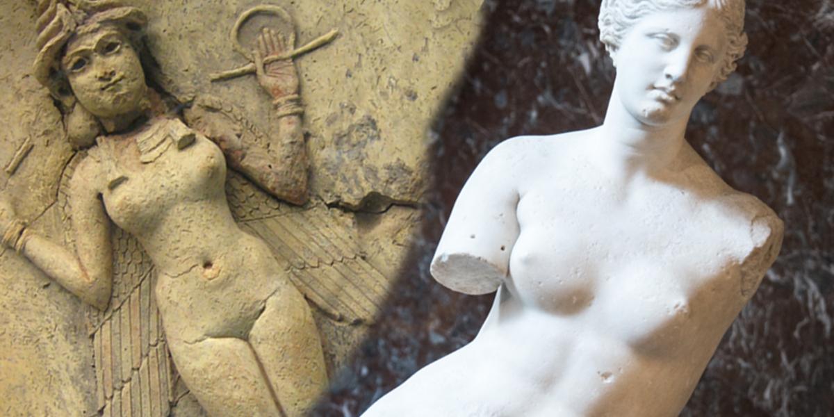 Ancient Art Comparison: The Queen of the Night Vs Venus De Milo