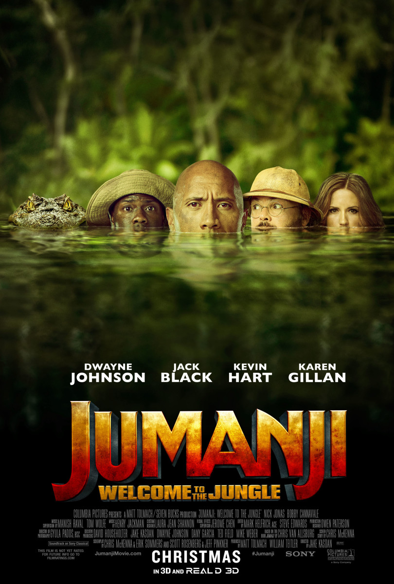 """""""Jumanji: Welcome to the Jungle"""": A Millennial's Movie Review"""