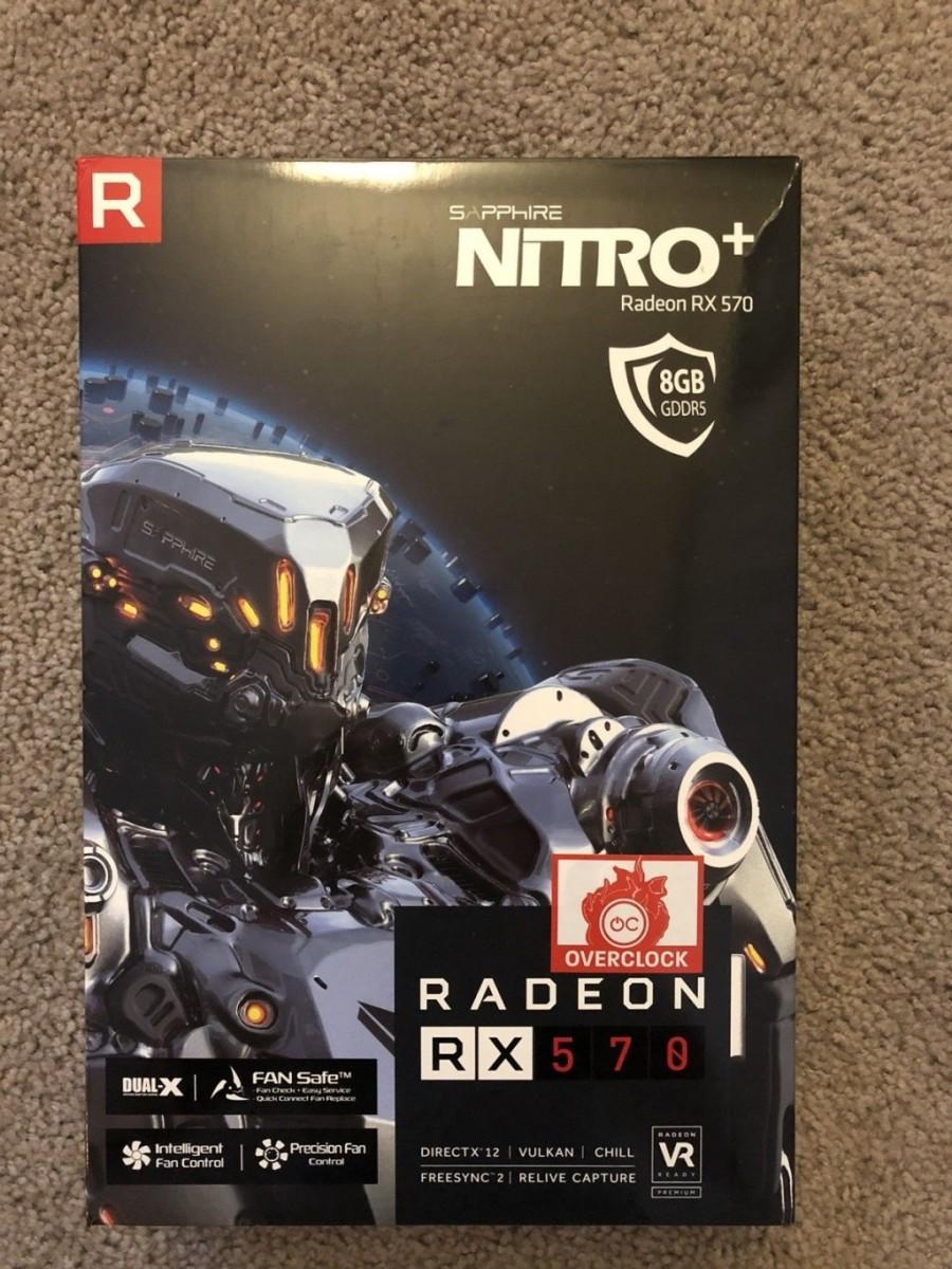 Sapphire Nitro+ RX 570 vs the MSI GTX 1080 Duke