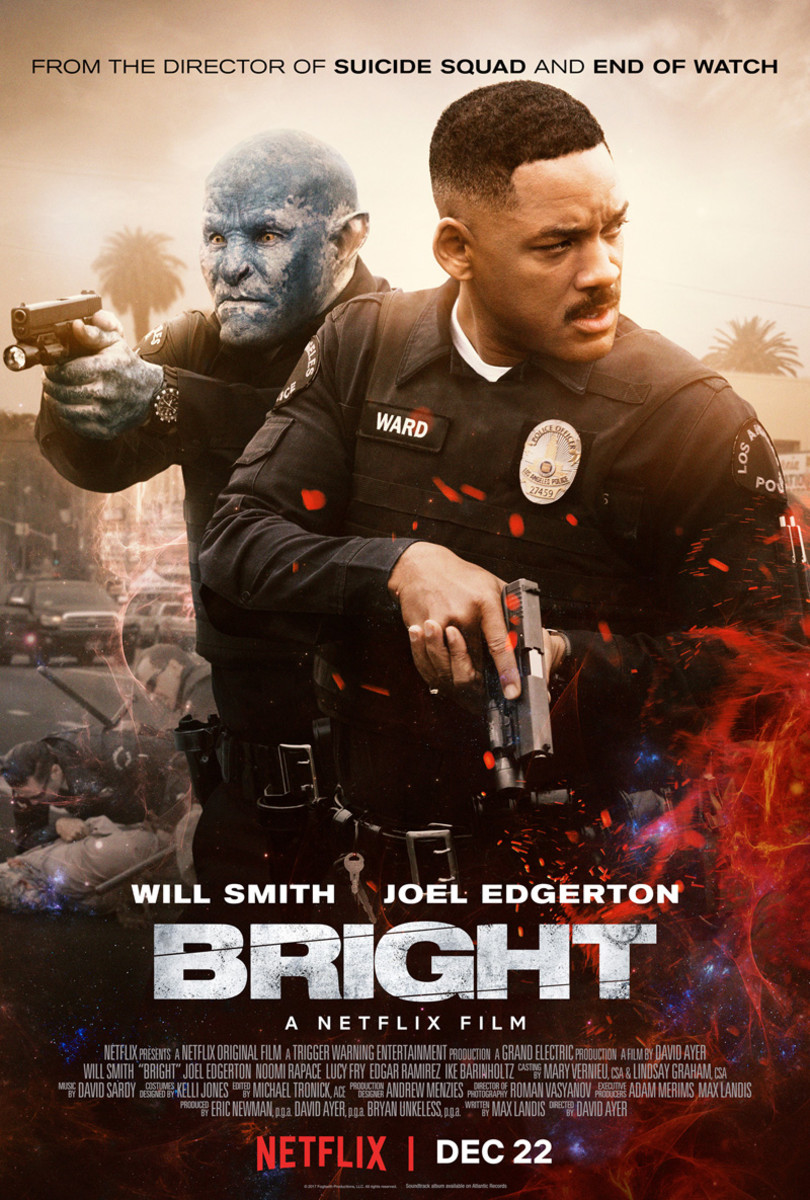 A poster for Netflix's Bright