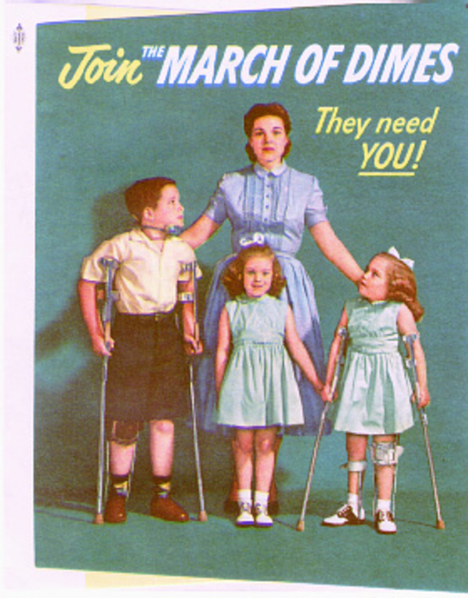 March of Dimes campaign ad