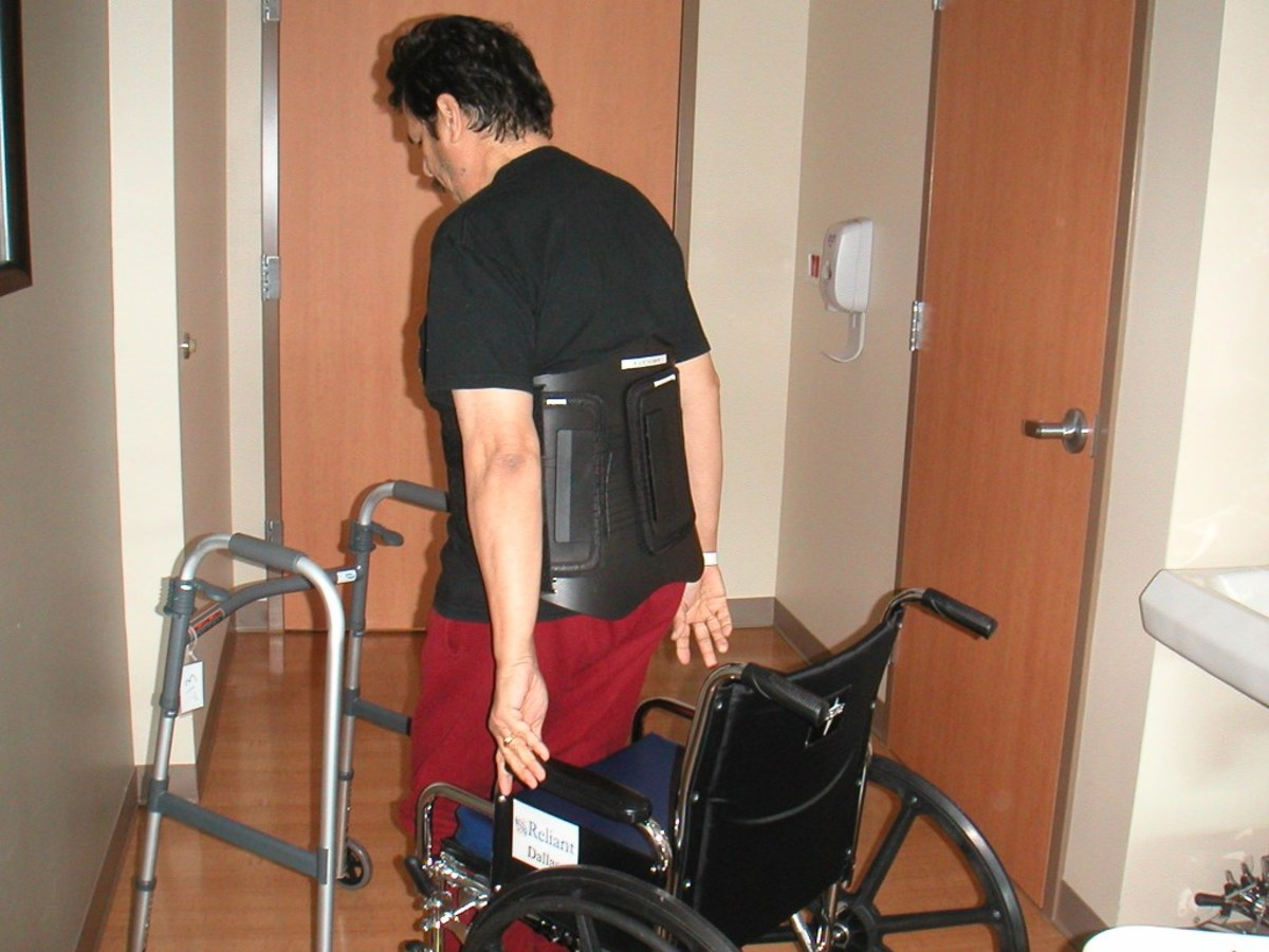 Walking may still be painful after injury—even with the aid of medical devices.