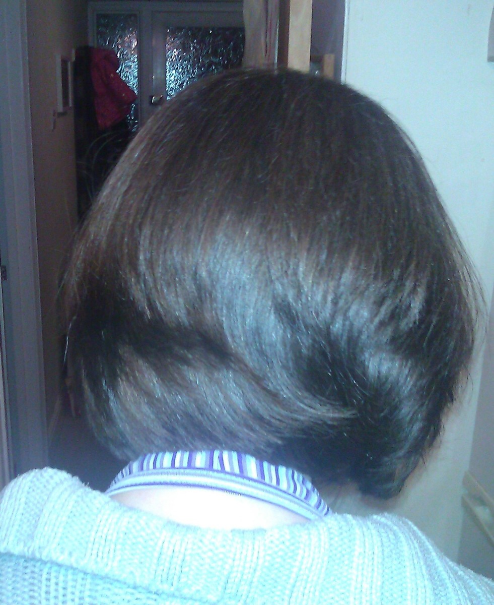 My hair, prior to chemotherapy