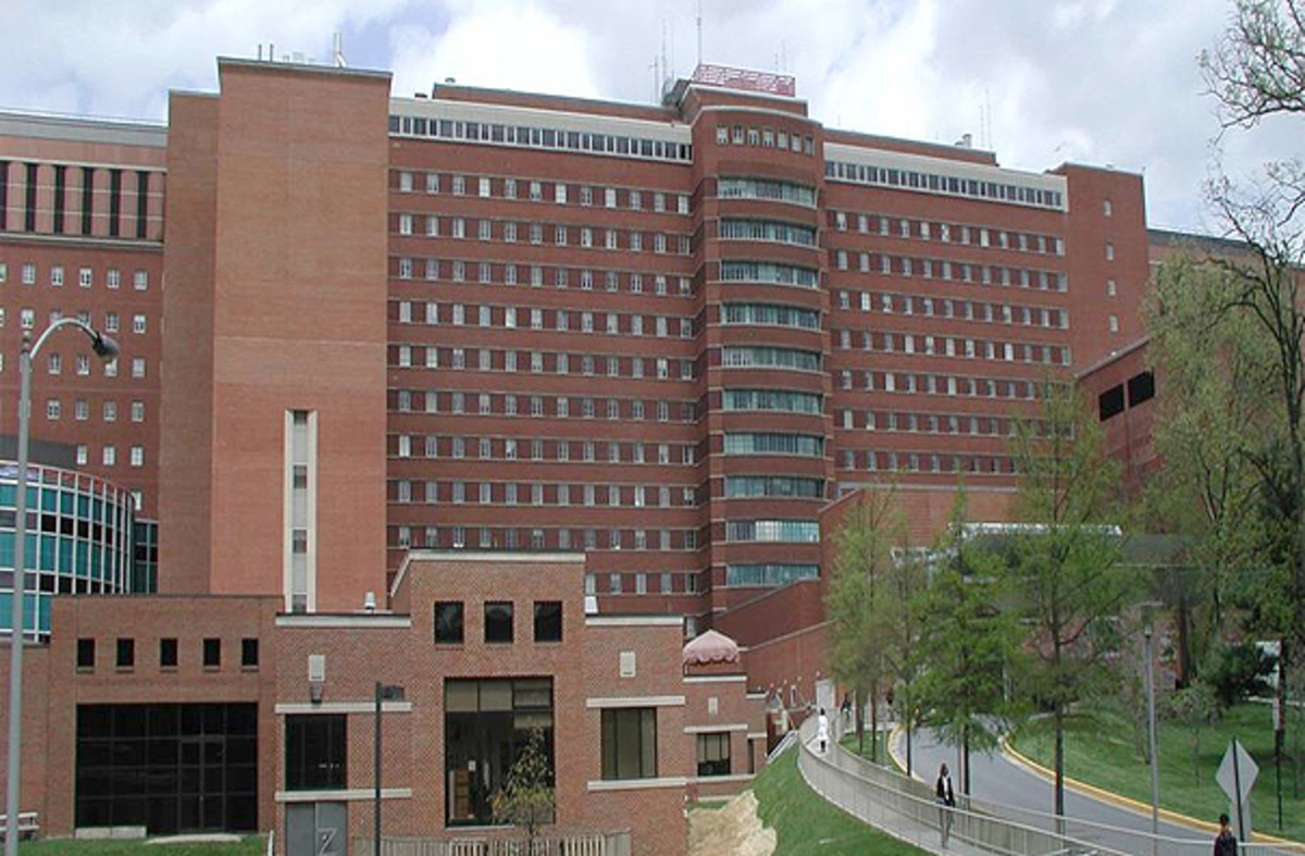 The National Institute of Health in Bethesda, Maryland