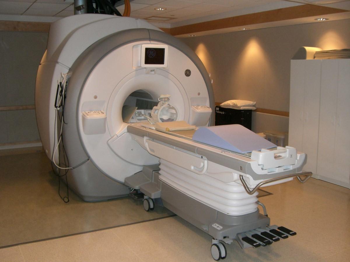 An MRI machine