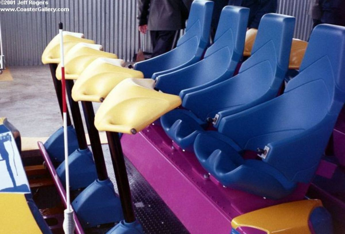 Nitro's seats and restraints