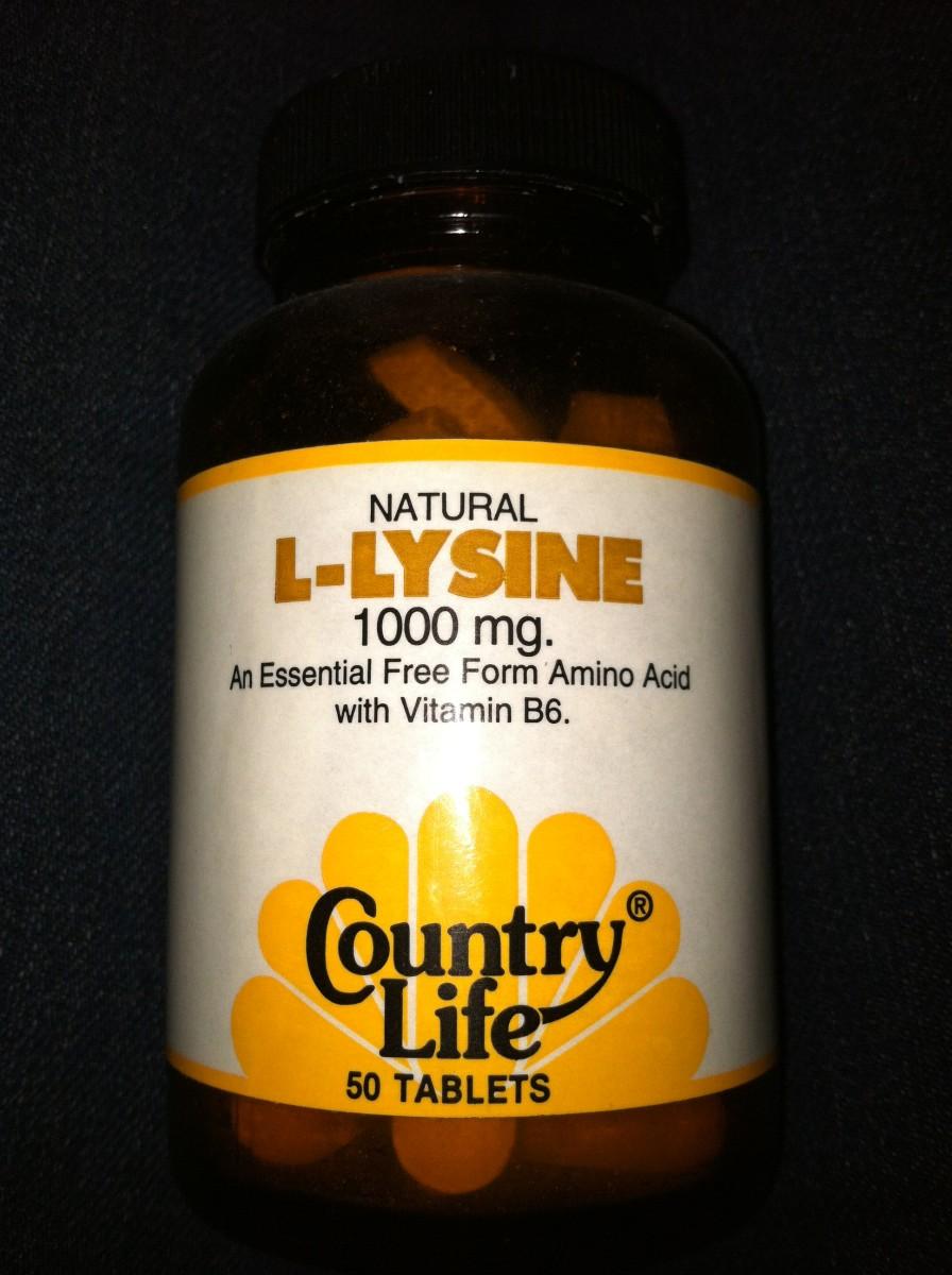 L-Lysine is well worth taking for fever blister prevention.