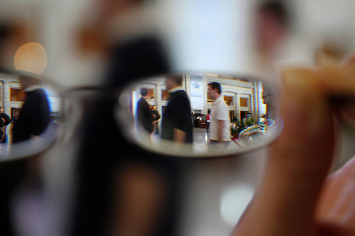 Blurriness is common with failing eyesight