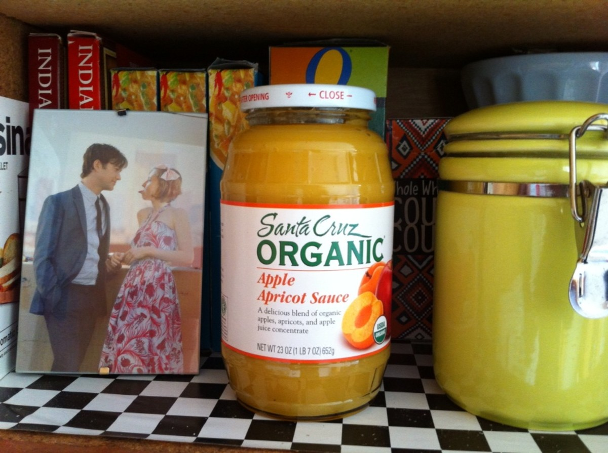I'll be eating a lot of applesauce now. And yes, that's a Photoshopped image of me being gazed upon by Joseph Gordon-Levitt (my hair used to be super short).