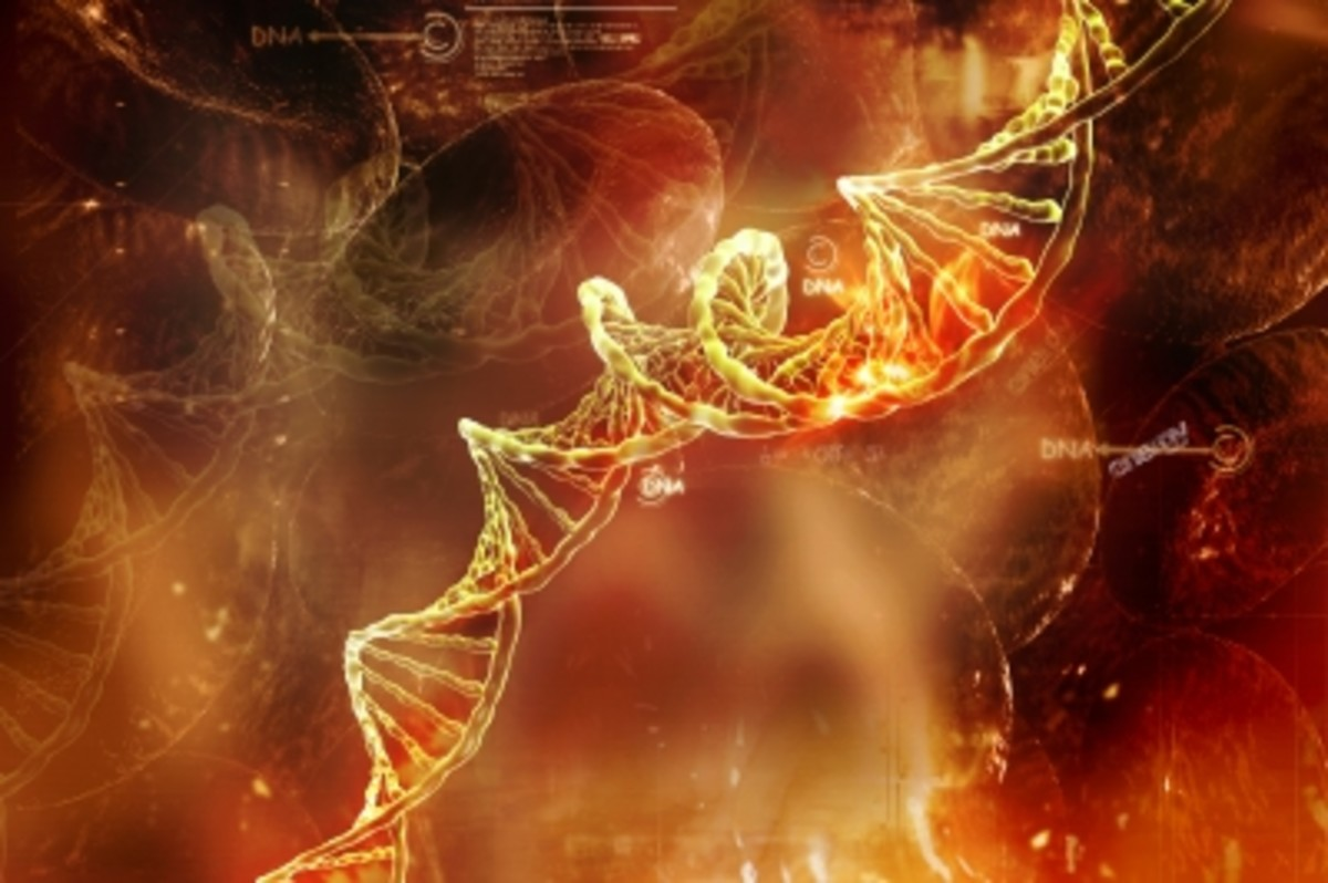 We all probably have some genetic secrets hidden in our DNA.