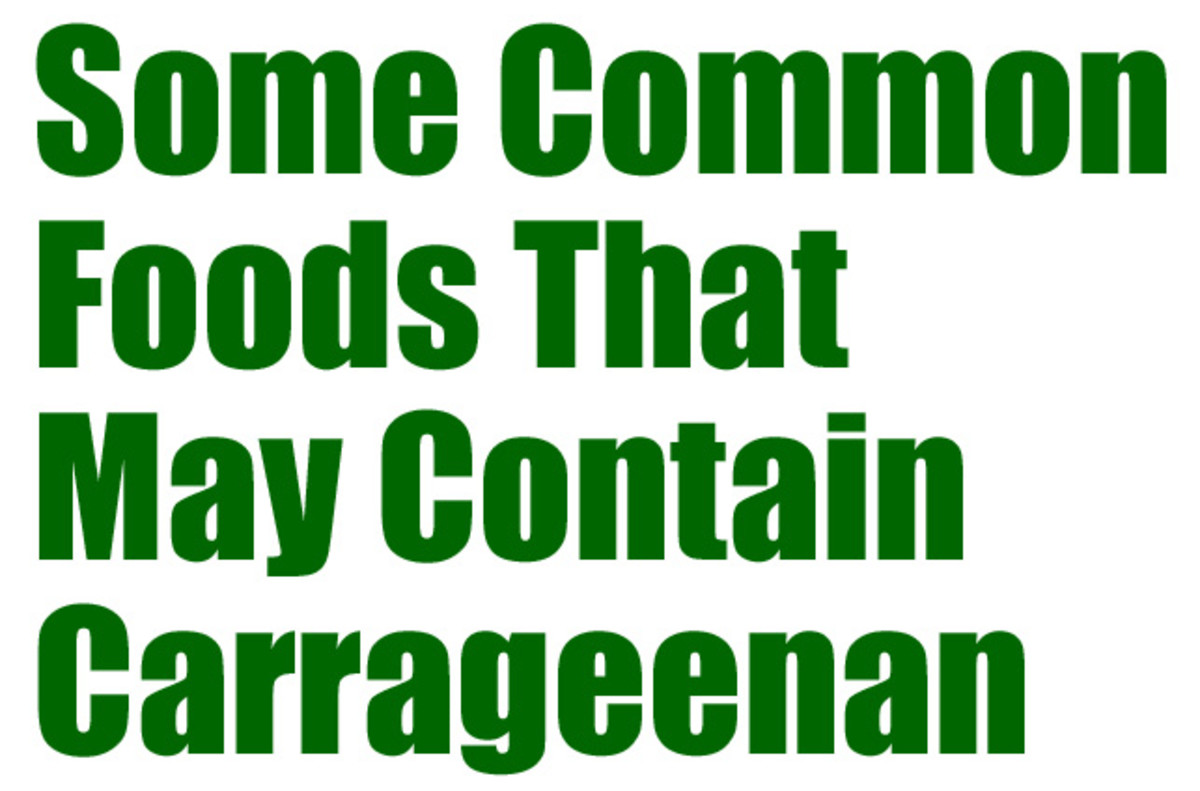 Carrageenan is found in more foods than you might think.