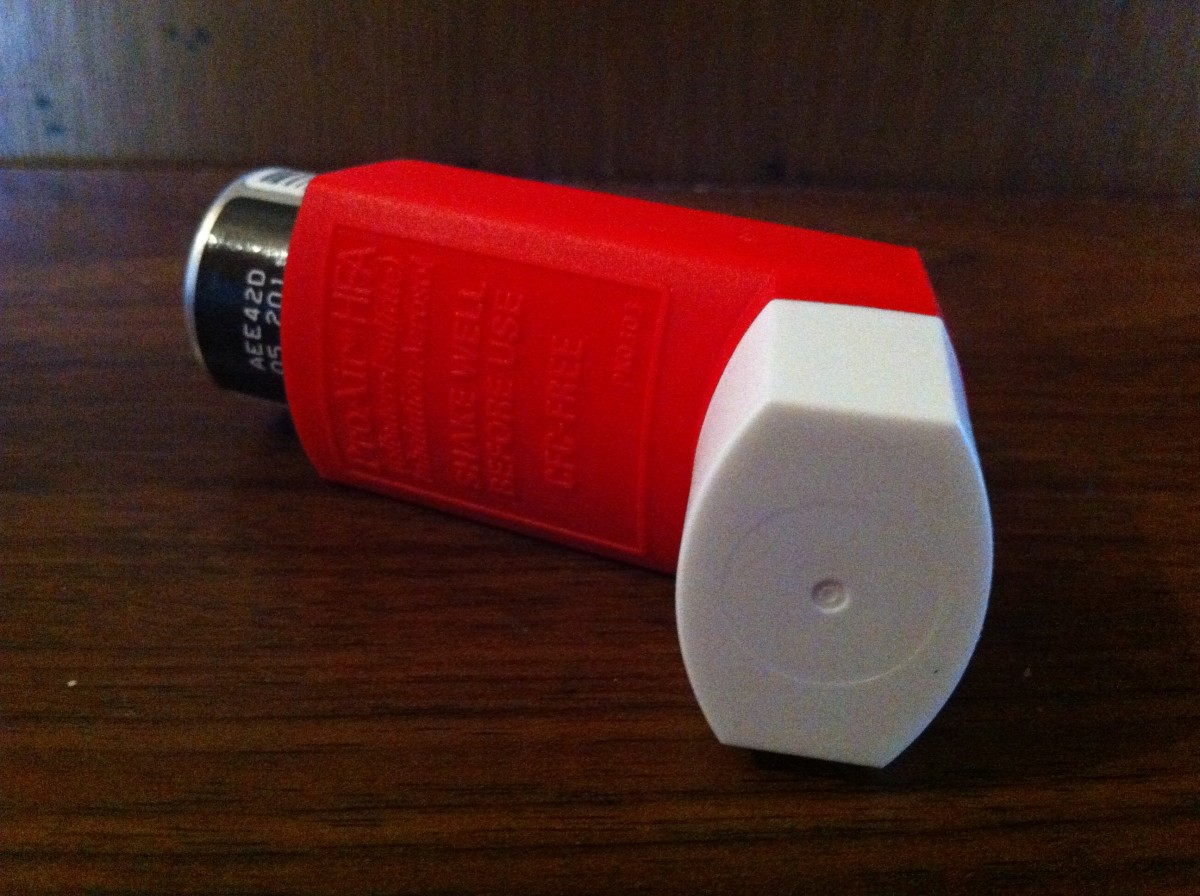 Asthma Medication Inhaler