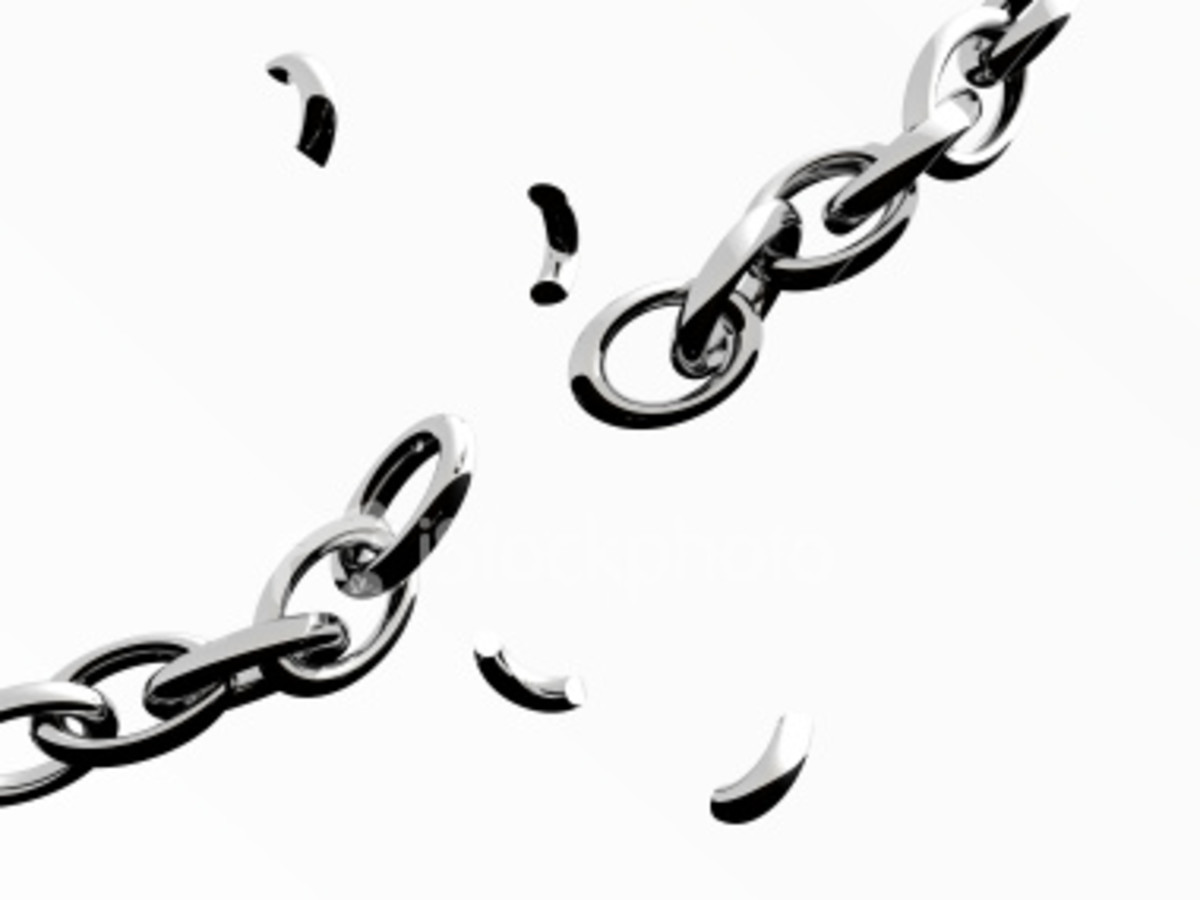 With time and effort you can break the chains of depression