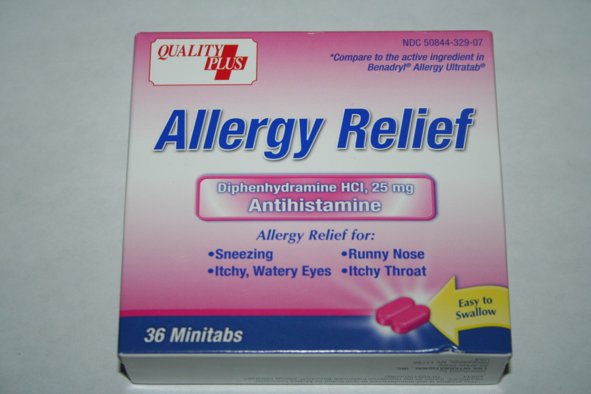 Walmart allergy relief for 88 cents.  This is more like Benedryl which would be taken for occasional allergy attacks.