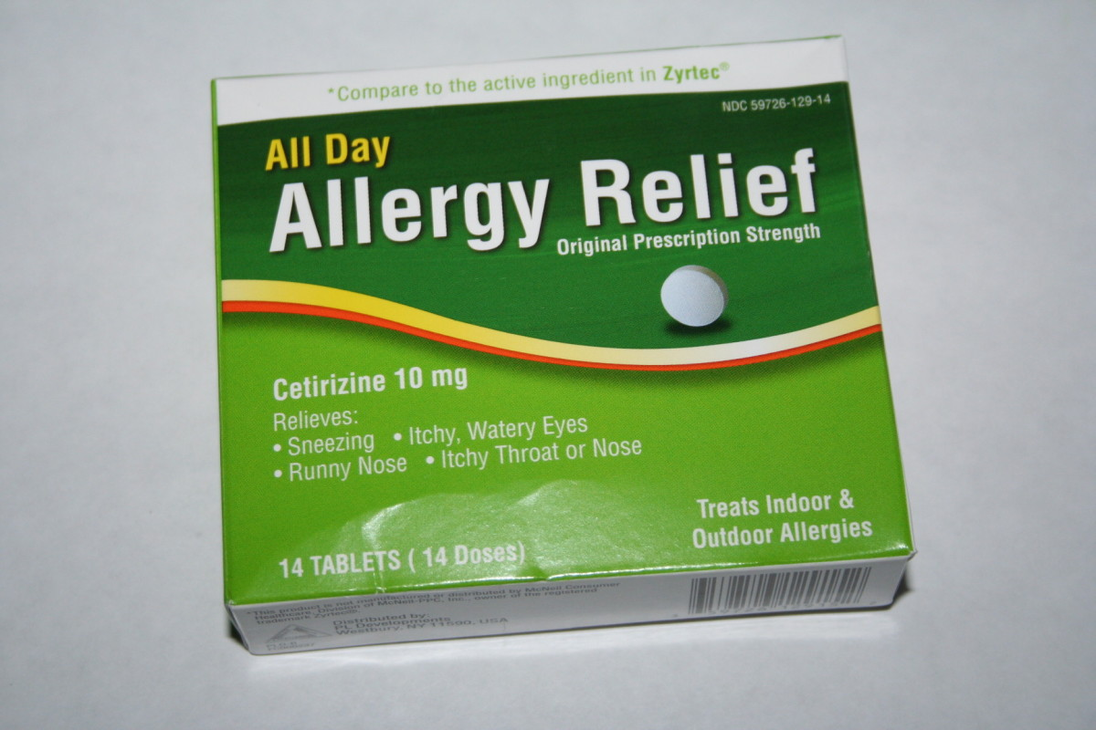Walmart brand for 88 cents.  Works great for daily allergies.