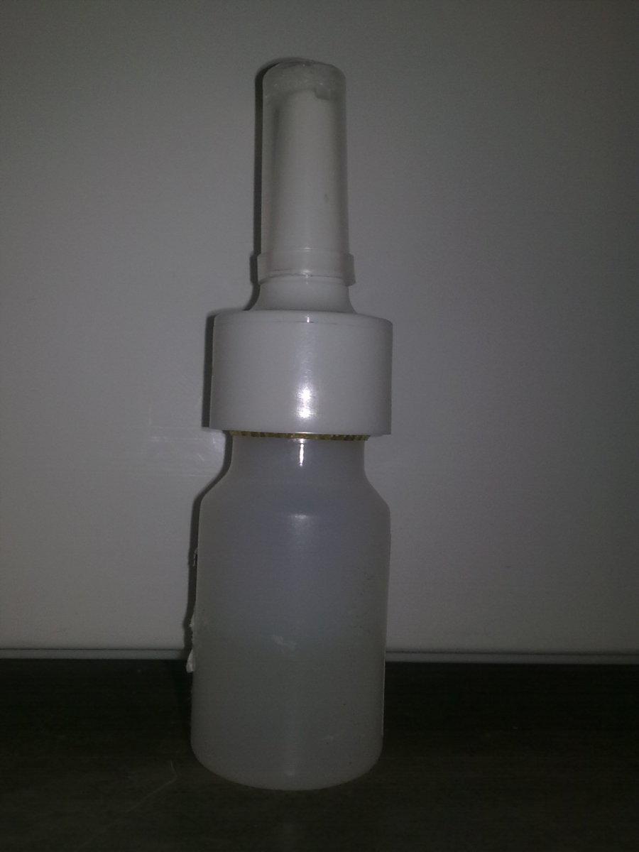Use saline nasal spray religiously after sinus surgery!