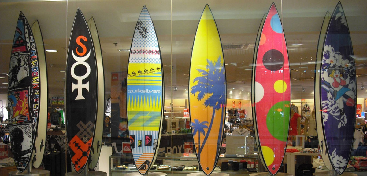 Surf Boards for accessible surfing