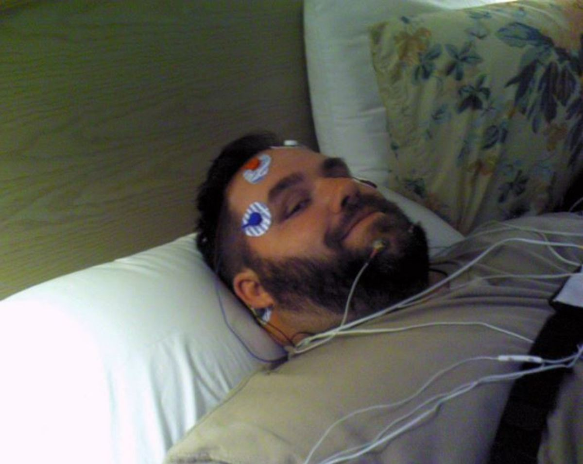 Wired for the sleep test
