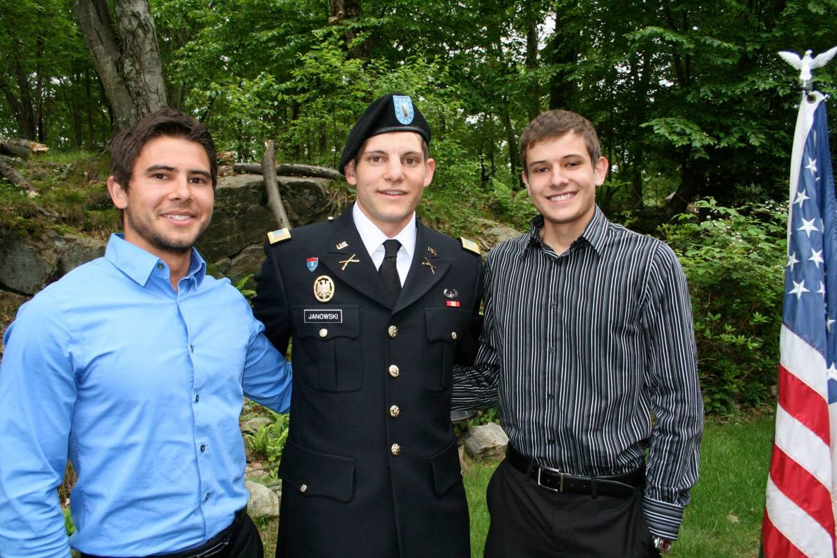 Three brothers: Jeff, Mike, and me