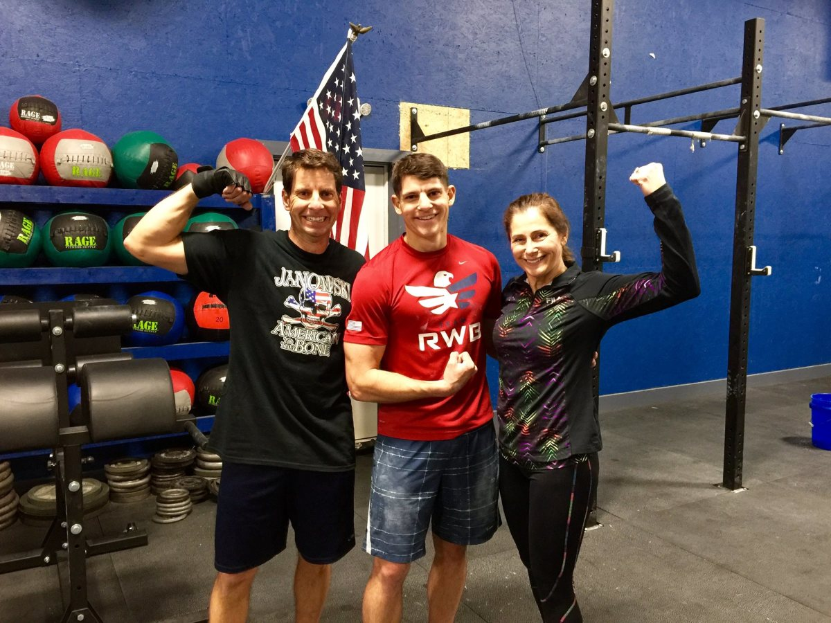 One last CrossFit workout before the big surgery, February 22, 2016